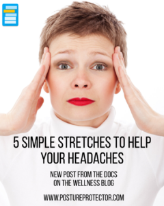 5 Simple Stretches To Help Your Headaches