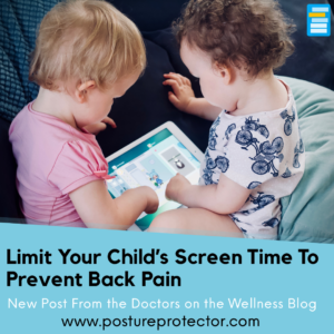 Limit Your Child's Screen Time To Prevent Back Pain