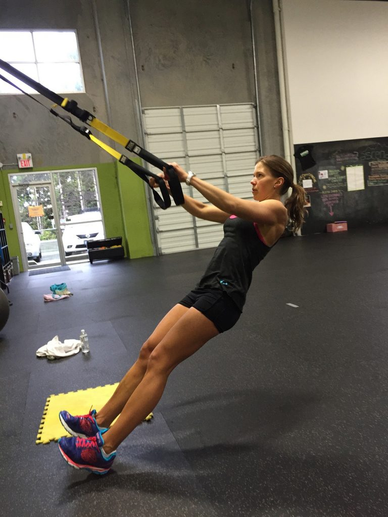 TRX Bands Are A Great Way To Strengthen Back Muscles